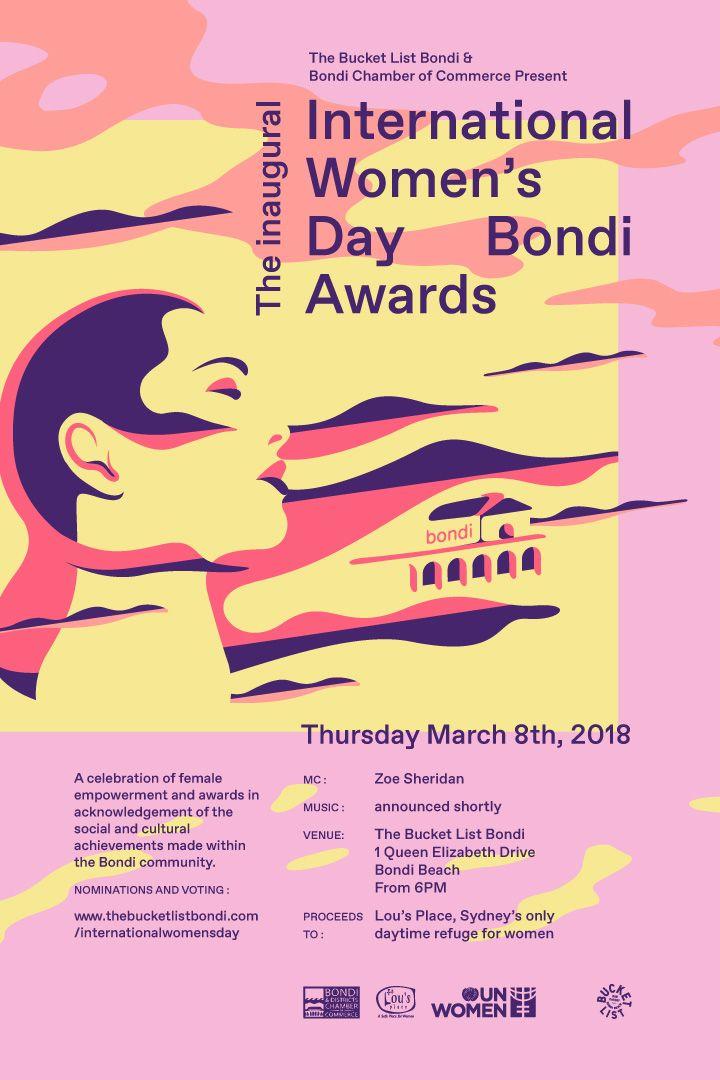 INTERNATIONAL WOMEN'S DAY BONDI AWARDS