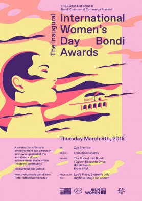 INTERNATIONAL WOMEN'S DAY BONDI AWARDS