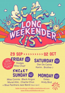 BUCKET LIST LONG WEEKENDER