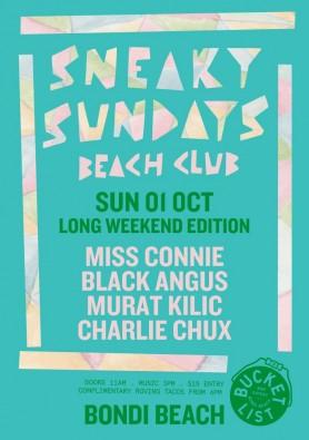 Sneaky Sundays 01.10.2017