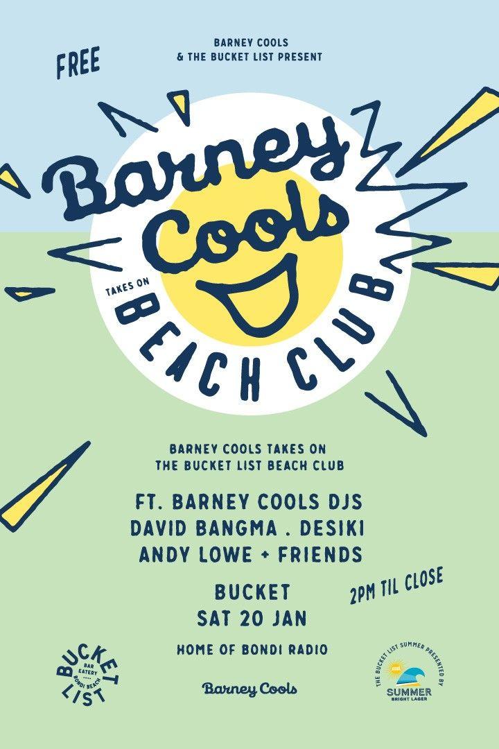 Barney Cools 20.01.2018