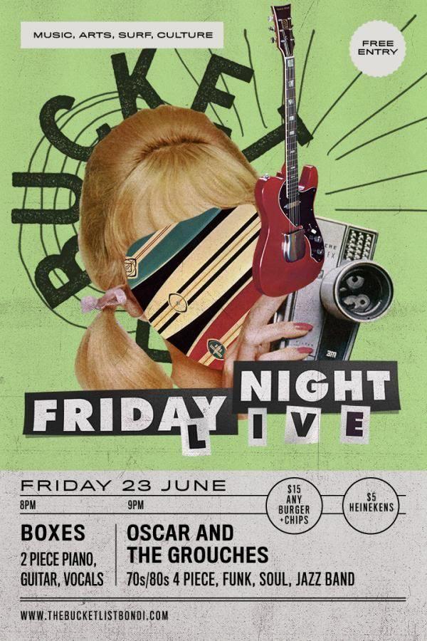Friday Night Live 23rd June 2017