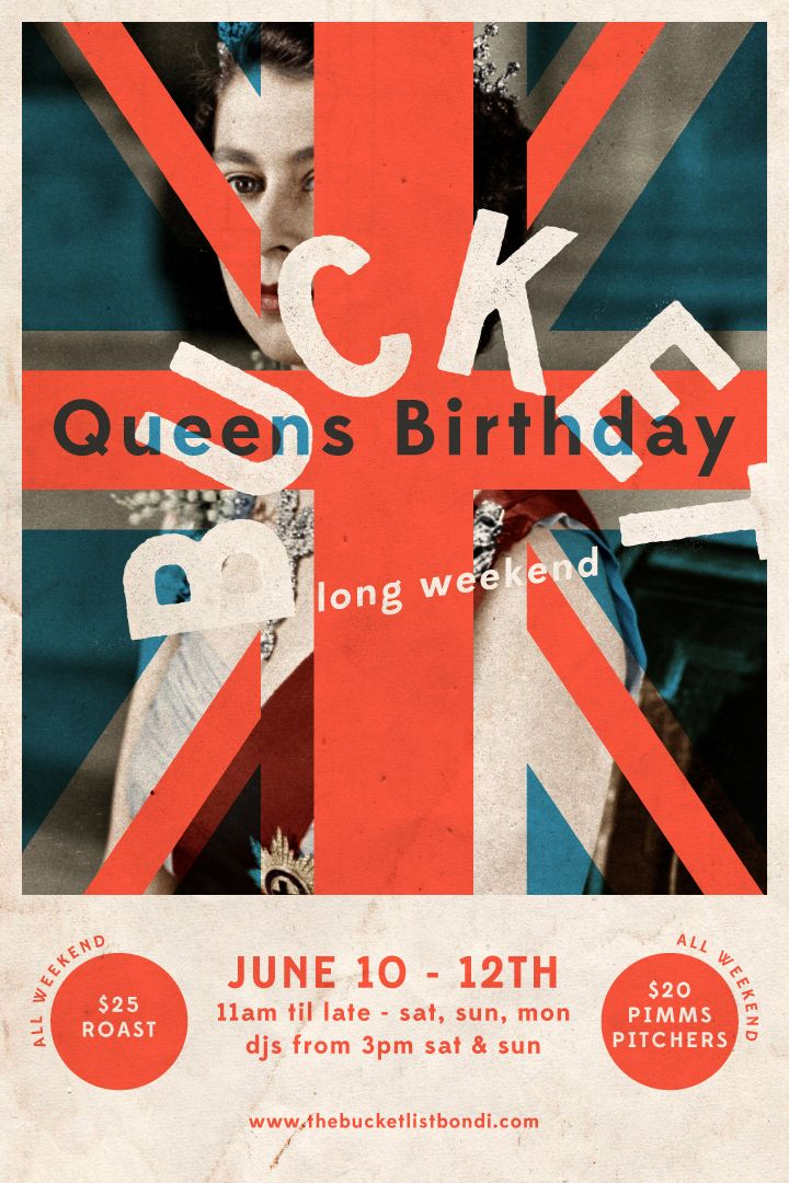 Queen's Birthday Long Weekend 2017