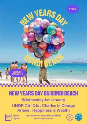 New Years Day Bondi Beach