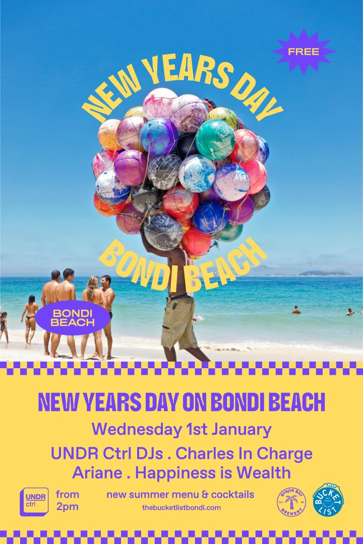 New Years Day Bondi Beach