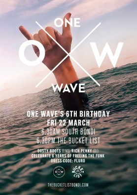 One Wave 6th Birthday
