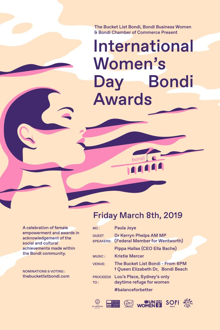 International Women's Day awards at The Bucket List