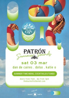 Patron summer sounds