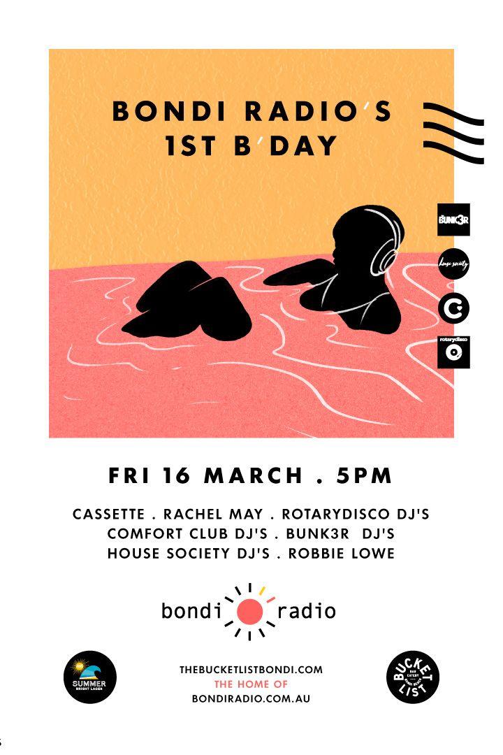 Bondi Radio's 1st B'day