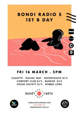 Bondi Radio's 1st B'day
