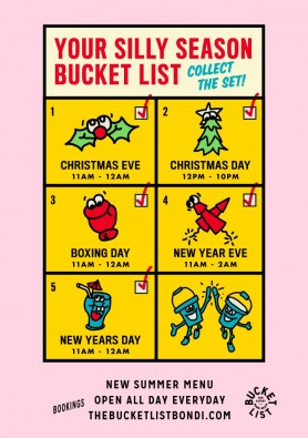 Silly Season at The Bucket List