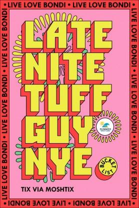 LIVE LOVE BONDI NYE PARTY